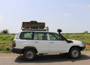 Land Cruiser Car Hire in Rwanda