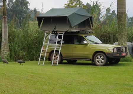 Roof Top Tent Car Rentals in Rwanda