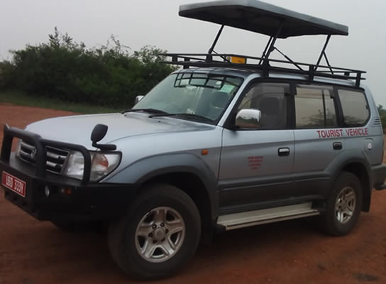 Land cruiser Prado Hire in Rwanda