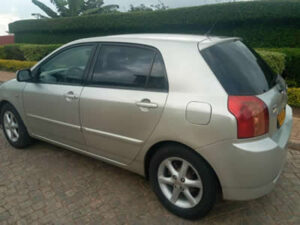 Budget Saloon Car rental in Rwanda