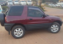 Rav4 Short Car Hire in Rwanda