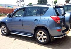 Hire Toyota Rav4 in Rwanda