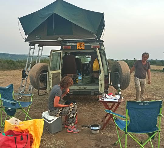 Camping gear rental rwandaa