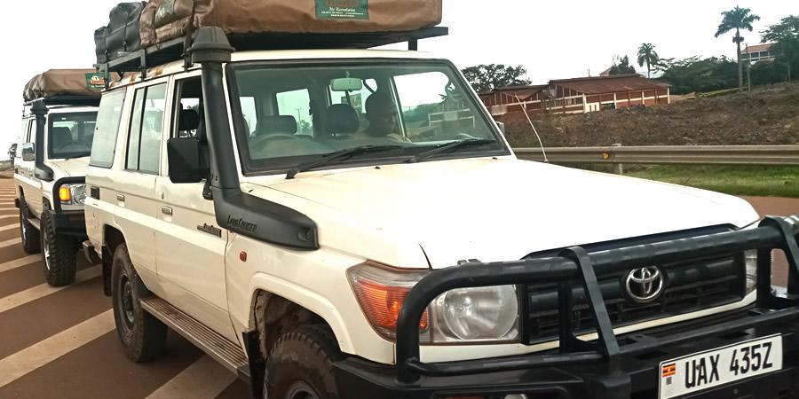 Car Rental Kigali self drive hire